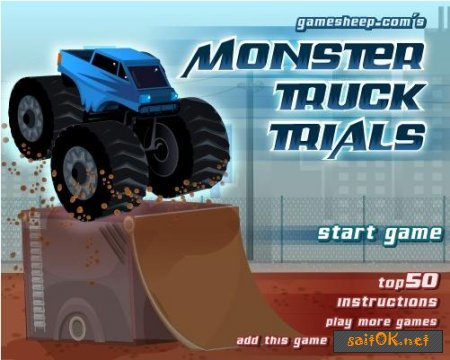 Monster Truck Trials-ON-Line